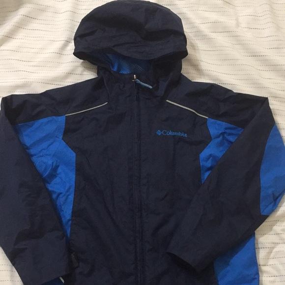 Boys Columbia Rain Jacket size 6/7